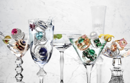 Glass Credits - Left to Right -Vega Martini Glass - Baccarat @Selfridges -Roxane Champagne Flutre - Lalique -100 Points Champagne Coupe - Lalique -Corrine Martini Glass - Willian Yoeward Crystal @Amara -Millie Nuits Flutissimo - Baccarat @Selfridges -Half Cut Square Coupe - Lee Broom @Selfridges Art Director - Ben Turner Photographer - David Newton Photographers' assistant - Paolo Navarino Stylist - Thea Lewis-Yates StylistÕs assistants - Ashley Conor and Jasmine Banbury